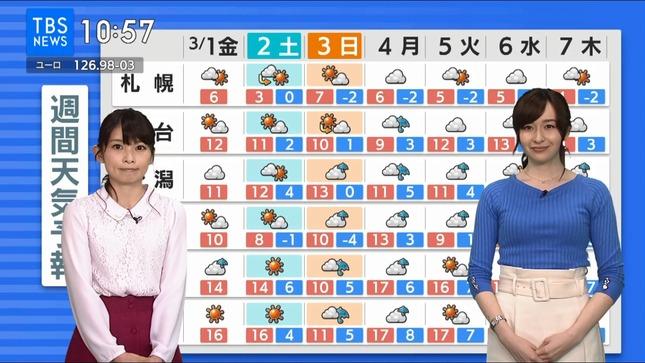 宇賀神メグ TBSニュース 7