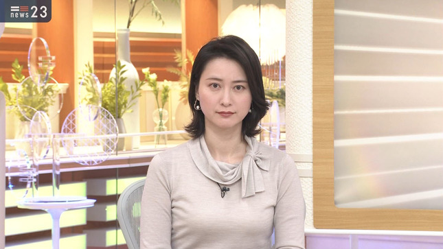 小川彩佳 news23 TBSニュース 4