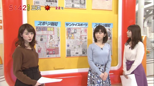 松尾由美子 新井恵理那 グッド!モーニング 8