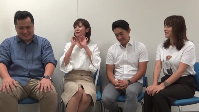 林美桜 アナウンサーズ 三谷紬 10