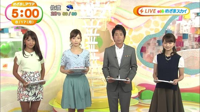 長野美郷 牧野結美 めざましテレビアクア めざましテレビ 08