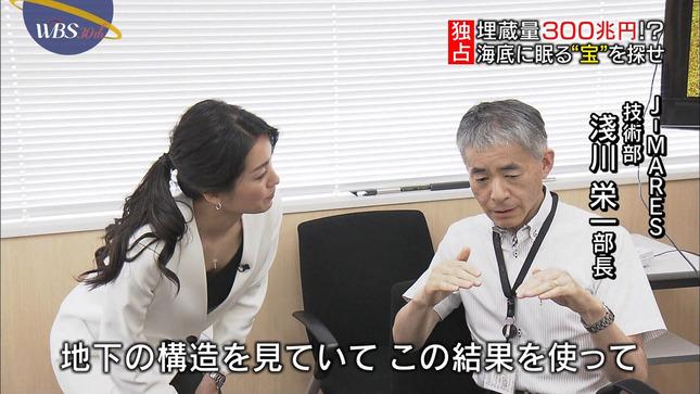 相内優香 ワールドビジネスサテライト 大江麻理子 6