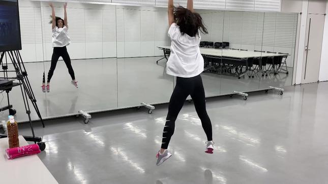 田中萌アナ10日間の記録 女子アナダンス部 32