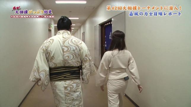 唐橋ユミ 感動!大相撲がっぷり総見 16