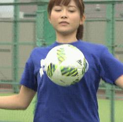 久冨慶子 女子アナキックチャレンジ 14