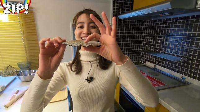 後呂有紗アナとクッキングデート「ごはんでおせんべい作ってみた」18