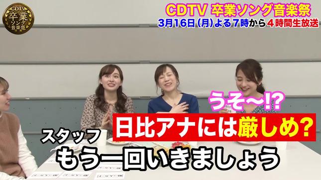 日比麻音子 江藤愛 宇賀神メグ CDTV デカ盛りチャレンジ20