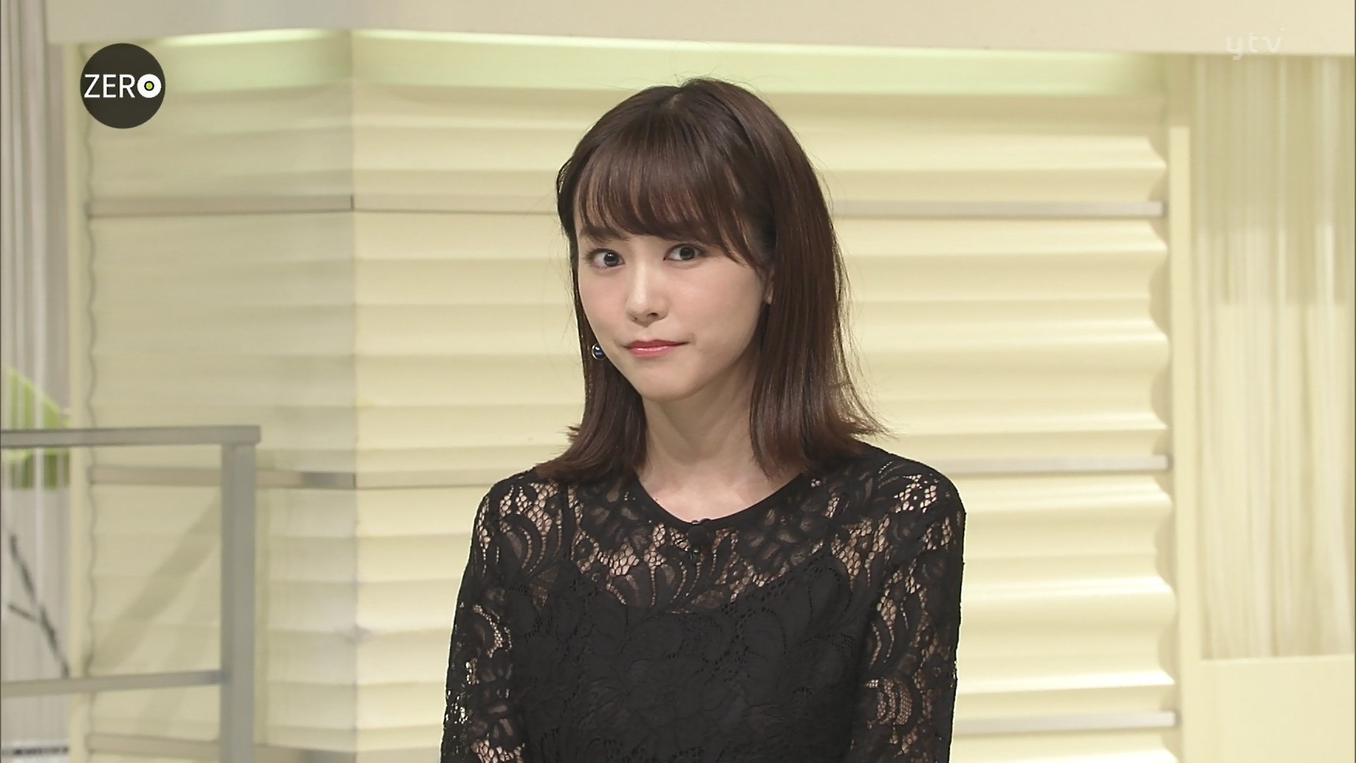 桐谷美玲(NewsZeroキャスター) シースルー!