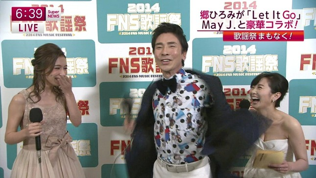 高島彩 加藤綾子 2014 FNS歌謡祭 12