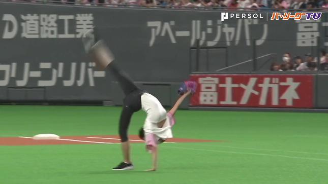 畠山愛理 日本ハム-巨人 始球式 5