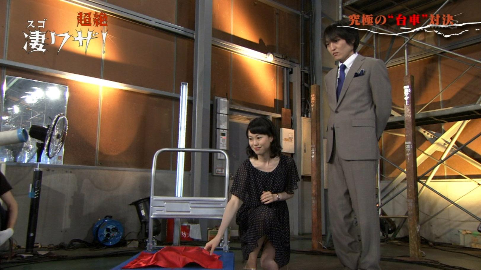 NHK・池田伸子アナ スカートの奥がチラリ! : アナきゃぷ速報