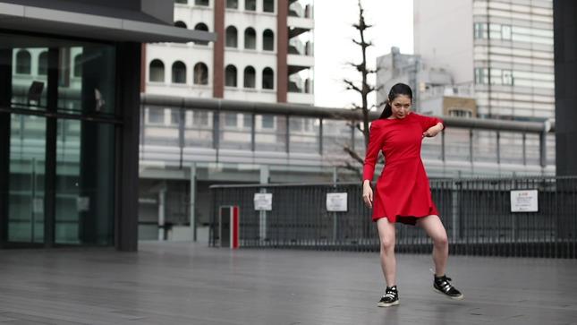 住田紗里アナが本気でフル尺踊ってみた 女子アナダンス部 7