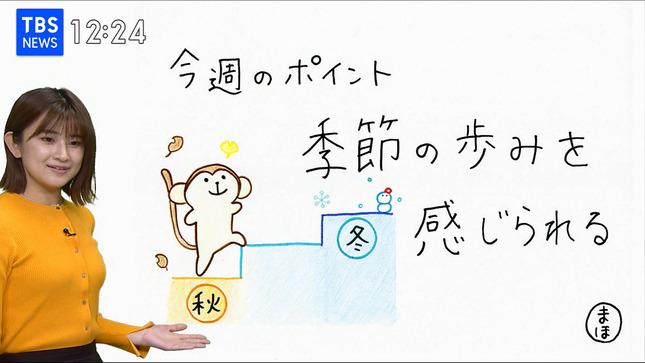 與猶茉穂 ウィークエンドウェザー TBSニュース はやドキ! 9