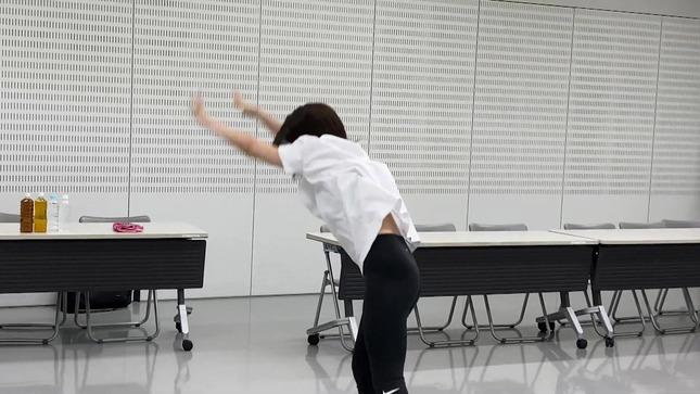田中萌アナ10日間の記録 女子アナダンス部 37