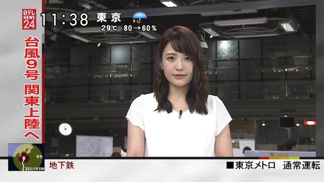 小熊美香 ZIP! 北乃きい NNNニュース 18