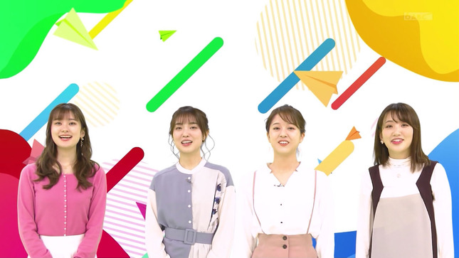 増田紗織 津田理帆 澤田有也佳 東留伽 ミニミニSDGs 1