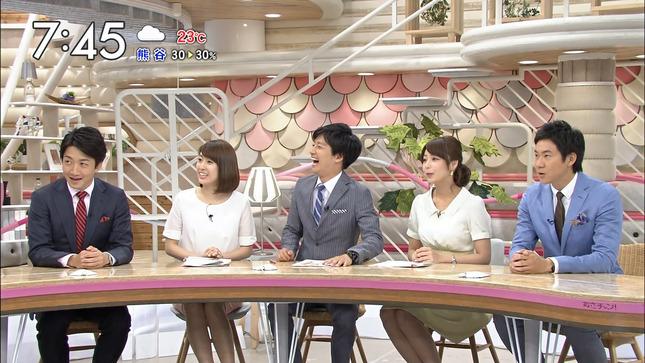 宇垣美里 あさチャン! 佐藤渚 夏目三久 25