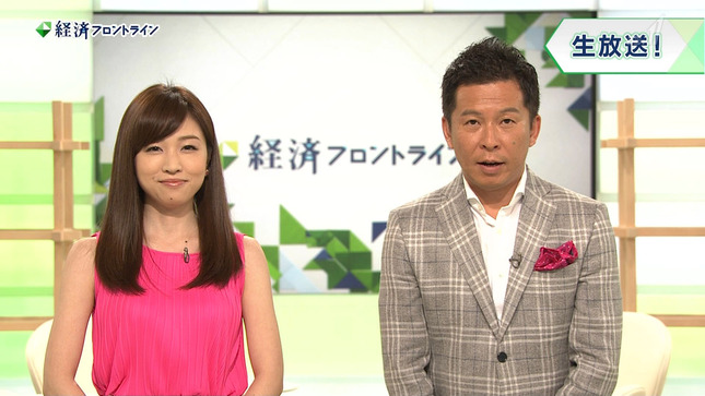 竹内優美 経済フロントライン 01