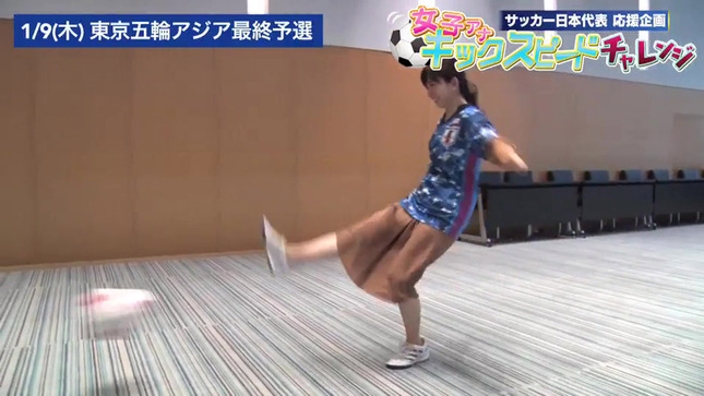 松尾由美子 女子アナキックスピードチャレンジ 12