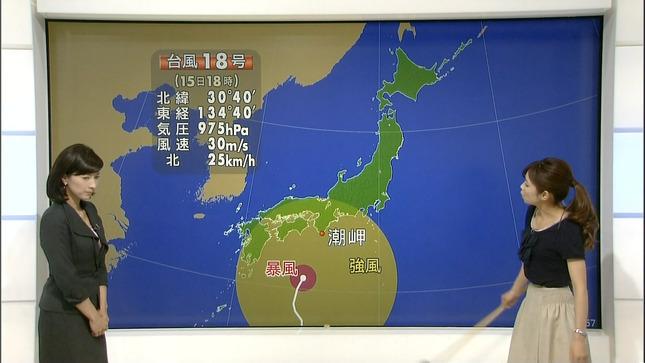 小郷知子 寺川奈津美 NHKニュース7 08