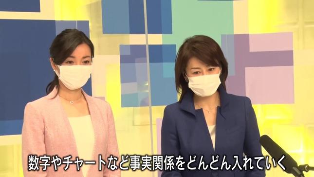 大江麻理子 WBS春の改編発表会見 13