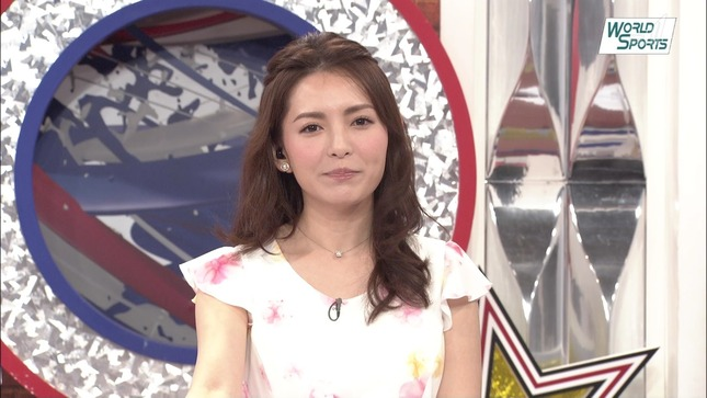 深津瑠美 ワールドスポーツMLB 12