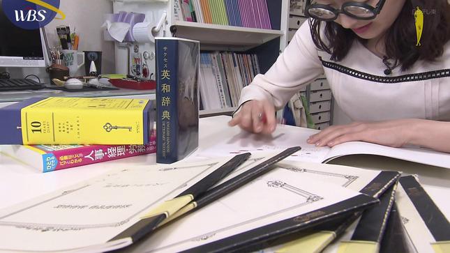 片渕茜 ワールドビジネスサテライト 14