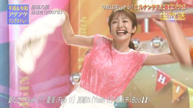 THE MUSIC DAY 2021 滝菜月 貴島明日香 市來玲奈 3