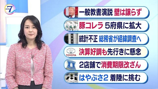 鈴木奈穂子 NHKニュース7 7