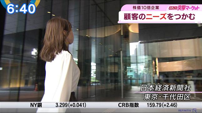 片渕茜 ニュースモーニングサテライト 19