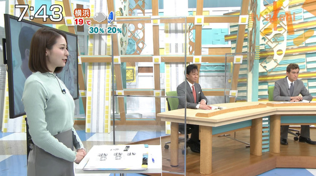住田紗里 週刊ニュースリーダー 7