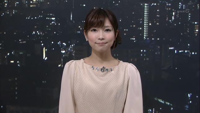 守本奈実 NHKニュース7 寺川奈津美 09