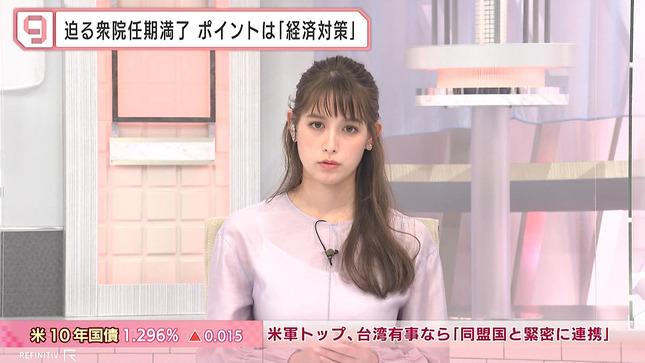 トラウデン直美 日経ニュースプラス9 1
