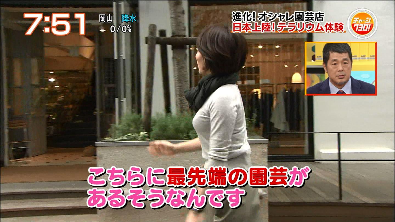 大橋未歩アナ ニットセーター横乳☆☆