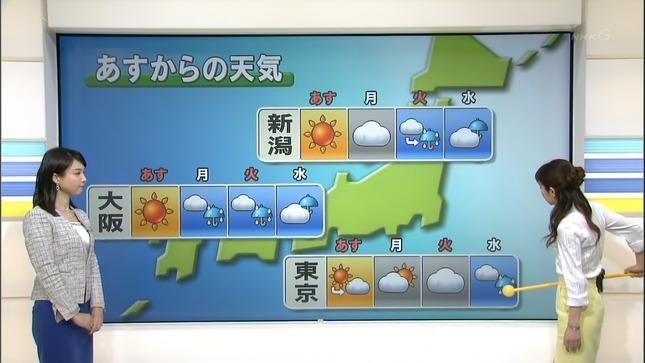 守本奈実 NHKニュース7 寺川奈津美 05