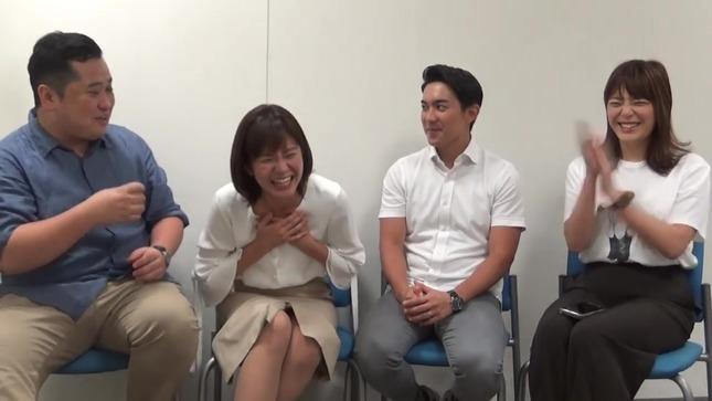 林美桜 アナウンサーズ 三谷紬 7