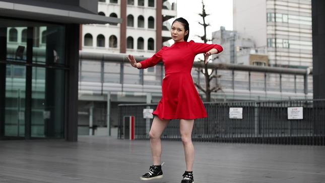住田紗里アナが本気でフル尺踊ってみた 女子アナダンス部 13