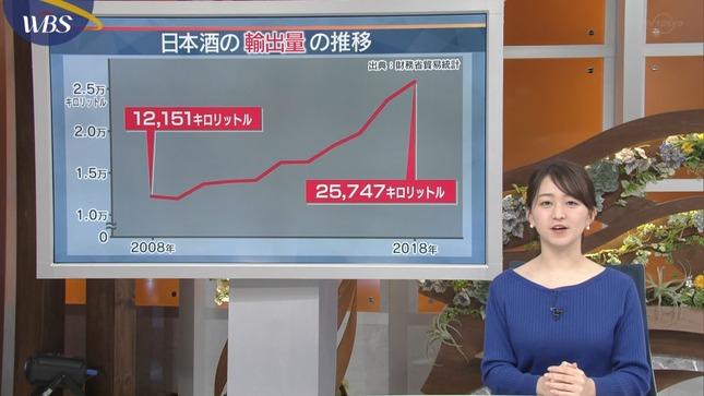 片渕茜 ワールドビジネスサテライト 1