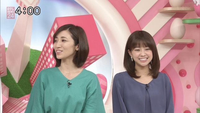 中川絵美里 笹崎里菜 Oha!4 3