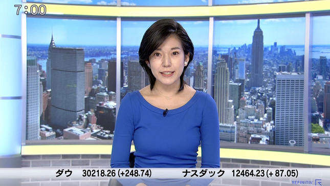 西野志海 ニュースモーニングサテライト 4