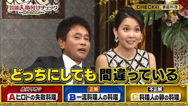 ヒロド歩美 芸能人格付けチェック! 2