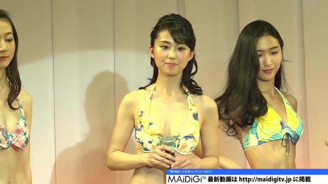 宮崎あずさ ミス日本コンテスト2017 ニュースシブ5時 13
