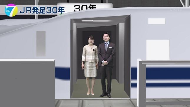 橋本奈穂子 NHKニュース7 22