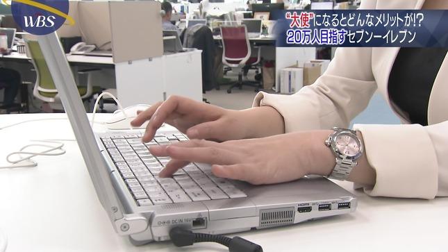 相内優香 ワールドビジネスサテライト 片渕茜 1