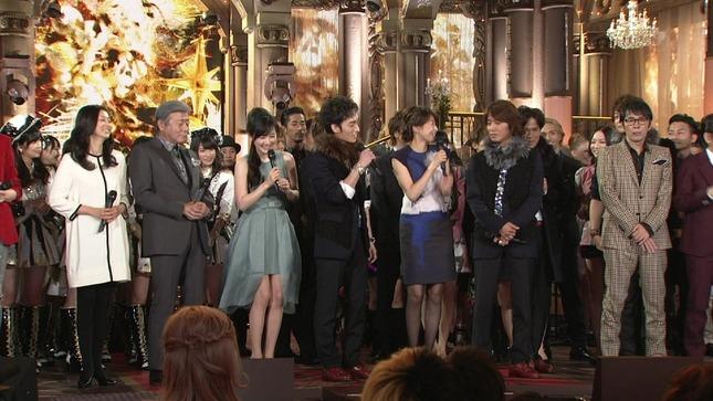 高島彩 加藤綾子 2014 FNS歌謡祭 21