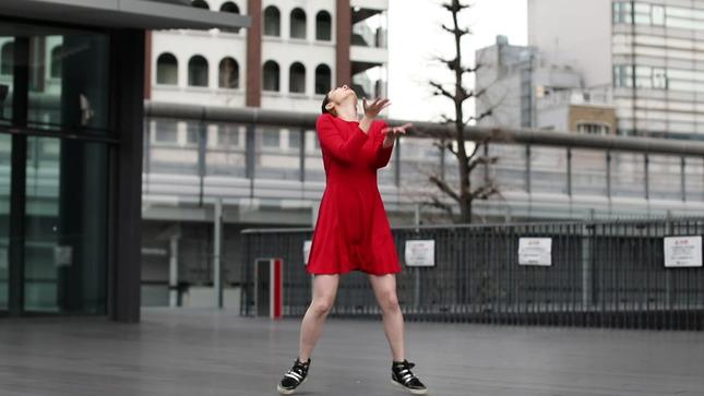 住田紗里アナが本気でフル尺踊ってみた 女子アナダンス部 18