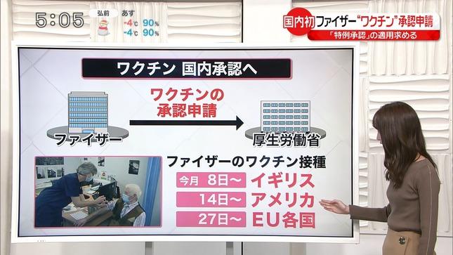 中島芽生 news every シューイチ 3