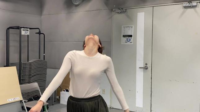 下村彩里 女子アナダンス部 練習編 21