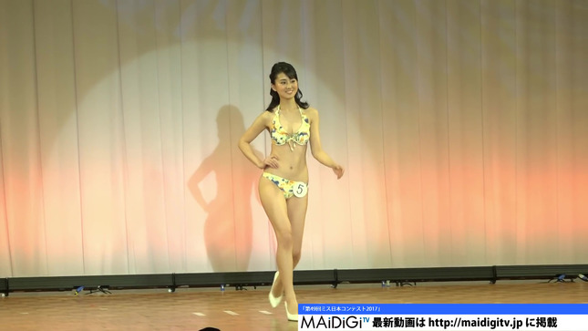宮崎あずさ ミス日本コンテスト2017 ニュースシブ5時 3