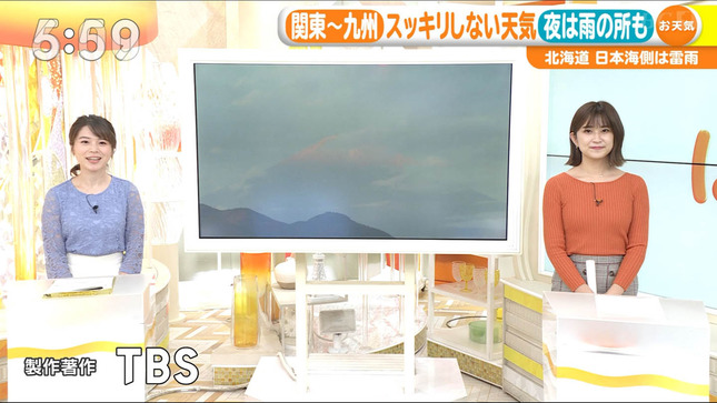 與猶茉穂 ウィークエンドウェザー TBSニュース はやドキ! 18